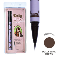 Dolly Wink: medium to dark brown<br>