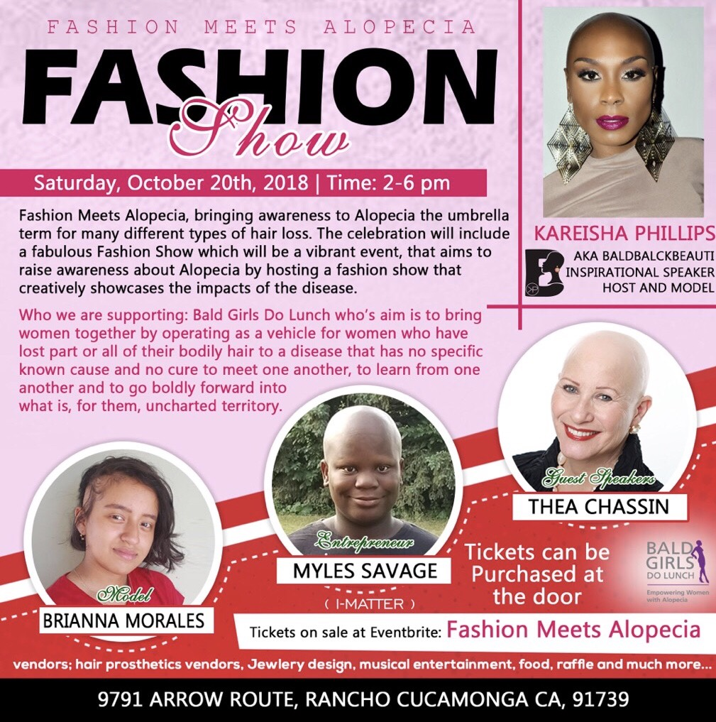 Fashion Meets Alopecia in Los Angeles Region